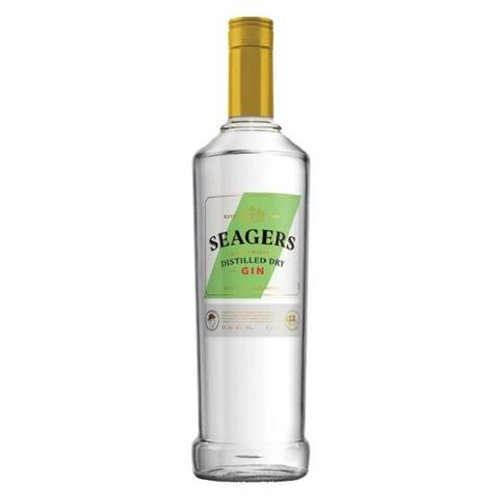 SEAGER LIME GIN 37.2% 1L