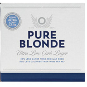 PURE BLONDE  LOW CARB 12 BOTTLES