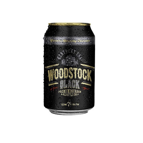 WOODSTOCK BLACK 10 PACK CANS 7%