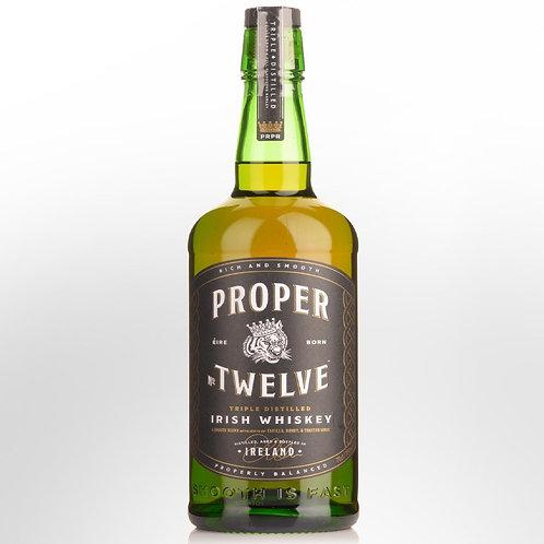 PROPER TWELVE IRISH WHISKEY 700ML