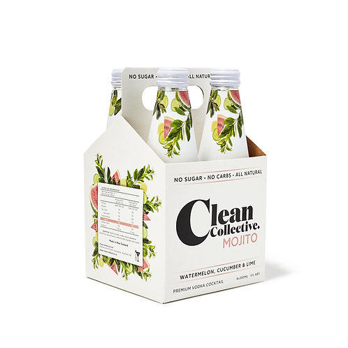 CLEAN COLLECTIVE WILD BERRY 4PK BTLS