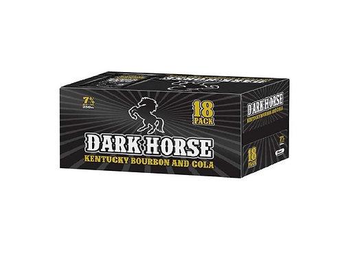 DARK HORSE BOURBON&COLA 18PK 7% CANS