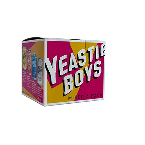 YEASTIE BOYS MIXED 4PK CANS 330ML