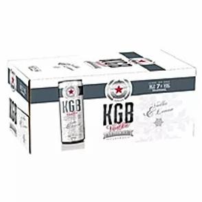 KGB VODKA 18PK CANS 7%