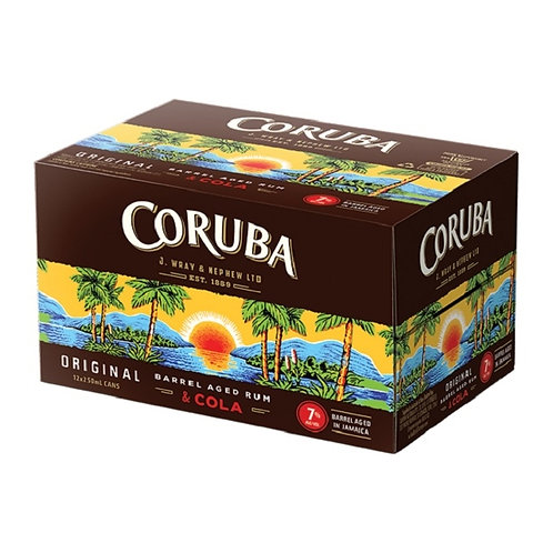 CORUBA 12 PACK CANS 7% 250ML