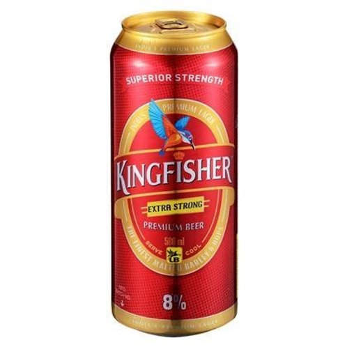 KINGFISHER EXTRA STRONG 500ML CAN 8%