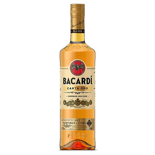 BACARDI GOLD 1L 40%