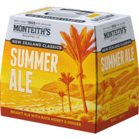 MONTEITH'S SUMMER ALE 12pk