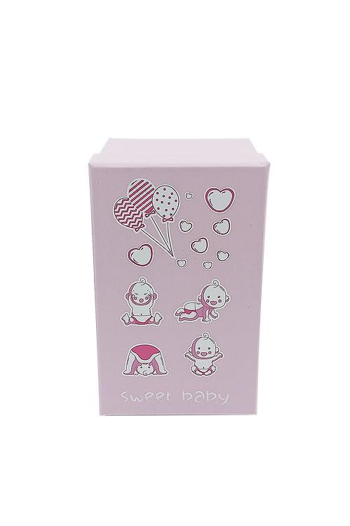 Bebek kutusu pembe sevimli bebekler 1 no  hediyelik kutu