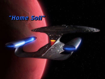 New Patron-Exclusive Podcast Episode: Star Trek: The Next Generation - Home Soil
