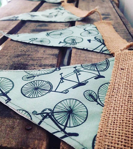 Bikes Bunting