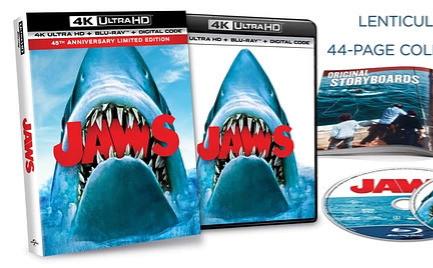 45 ans de JAWS : Blu-ray 4K, tour virtuel, goodies...