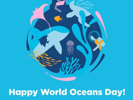 Journée mondiale de l'océan le lundi 8 juin 🌎