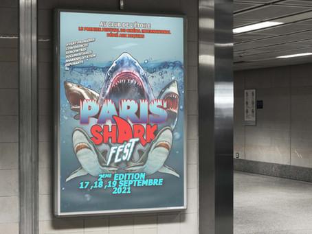 Affiche alternative en mode Sharksploitation !