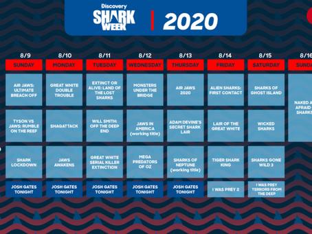 Shark Week 2020 - C'est parti !