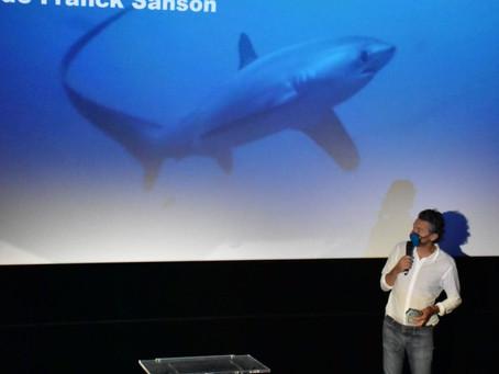 Franck Sanson remporte le prix du jury du Paris Shark Fest