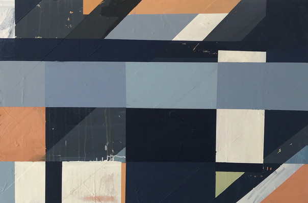 """""""Composition in Blue and Orange"""""""