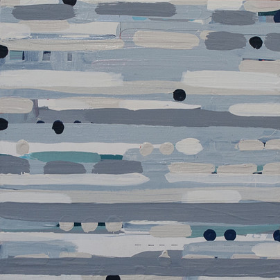"""""""Between the Lines in Shades of Gray"""" SOLD"""