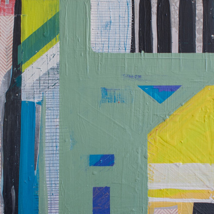 """""""Color and Geometry"""" SOLD"""