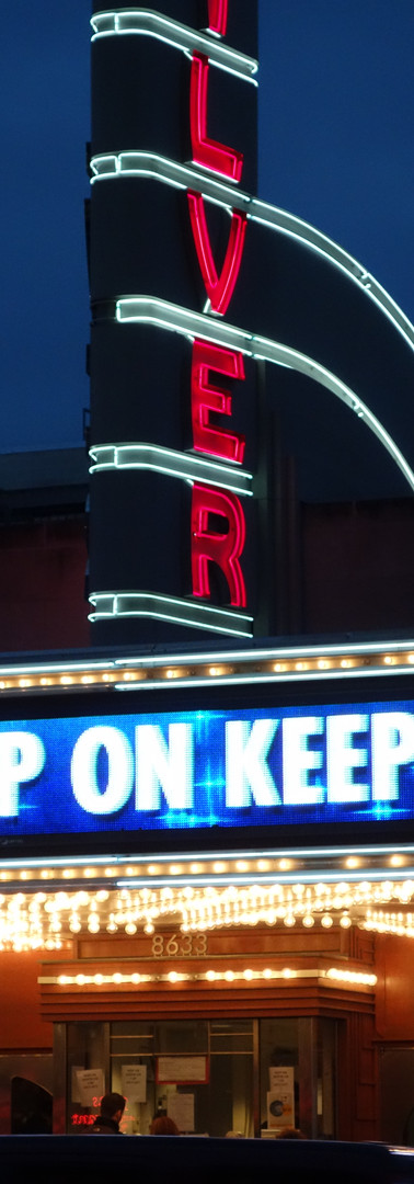 AFI Silver Theater Marquee