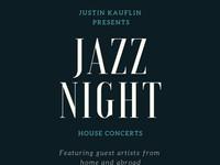 Jazz Night House Concerts