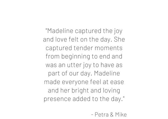 %22We truly had a magical wedding and Ma