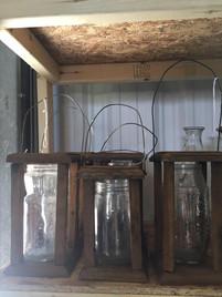 Woodsy Jar Lanterns