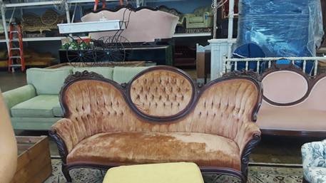 Orange Blossom Sofa