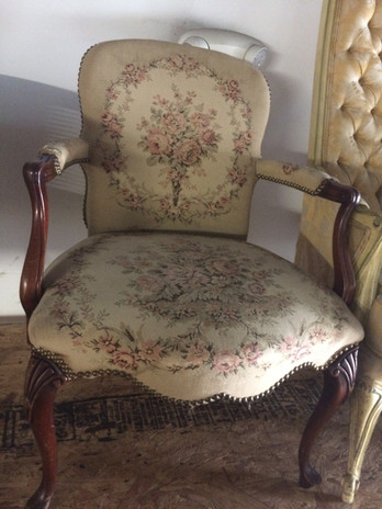 Floral of Eden Chair