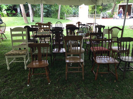 Mismatched Chairs