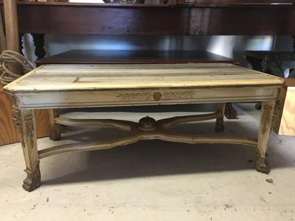 Woodsy Parisian Table