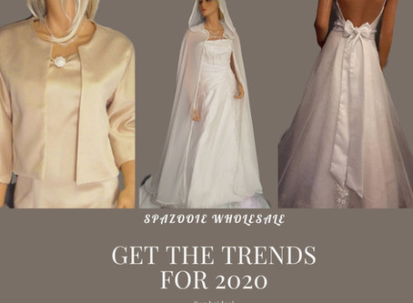 Trendy accessories for brides