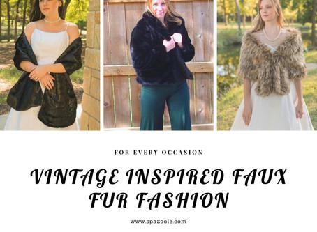 Vintage inspired looks.