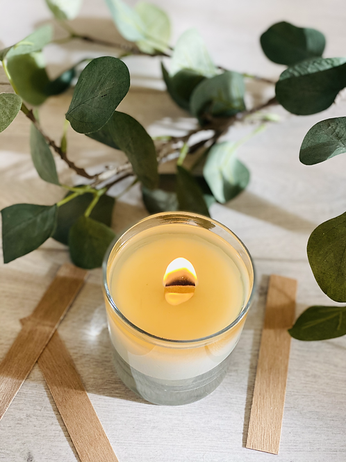 Large Wood Wick Candle