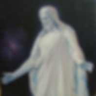 the christus oil painting