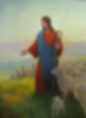 christ shepherd fine art painting