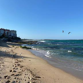 Beach walks are my favourite