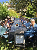 afternoon bbq at concord retirement residence