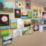 art created by residents at concord retirement residence