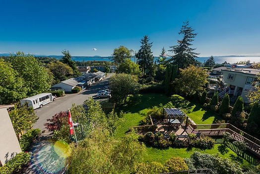 Exterior view from Concord Retirement Residence in White Rock