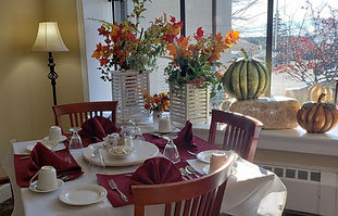 dining room at Concord Retirement Residence