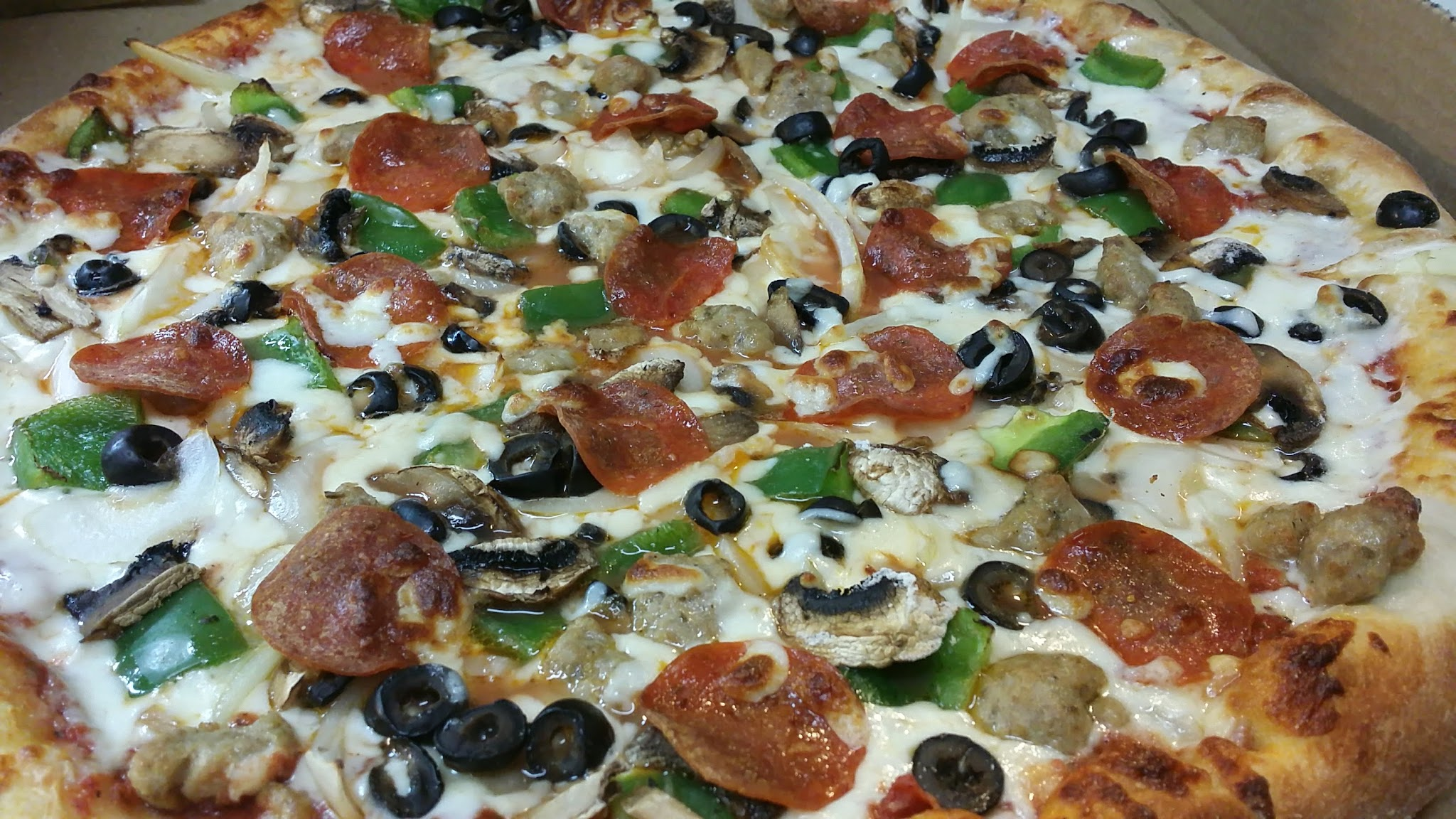 Large Anza's Special Pizza