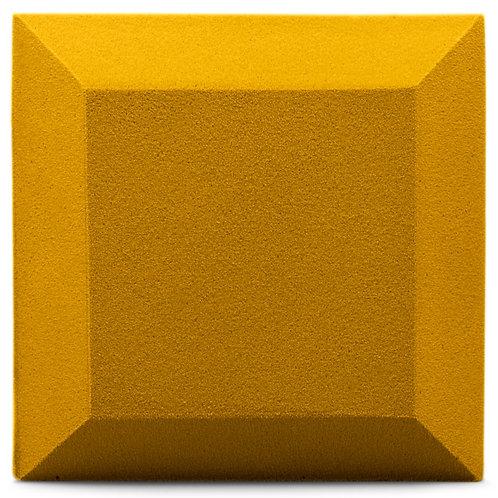 Бархатная акустическая панель Ecosound Velvet Gold 25х25см 50мм. Цвет золотой