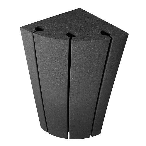 Бас ловушка угловая Ecosound Bass trap Sector 500х250х250 цвет черный графит