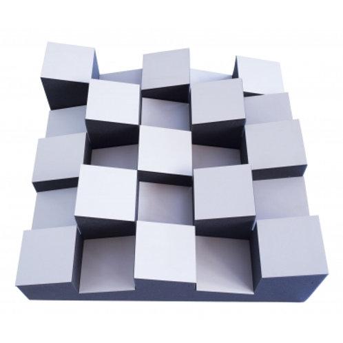 Акустический диффузор-рассеиватель Ecosound Ecodiff Foam White 500х500х150мм