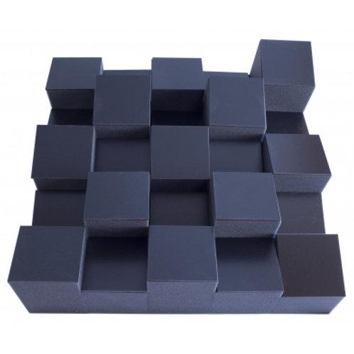 Акустический диффузор-рассеиватель Ecosound Ecodiff Foam Black 500х500х150мм