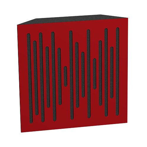 Бас ловушка Ecosound Bass trap Ecowave wood 500х500х100 цвет красный