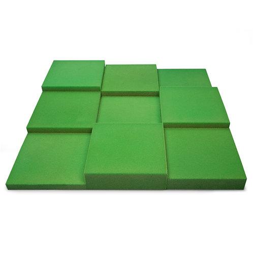 Панель из акустического поролона Ecosound Pattern Velvet 60мм, 60х60см зеленый
