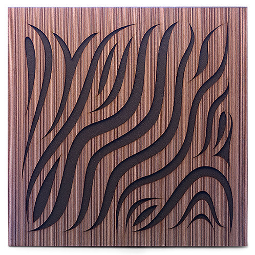 Акустическая панель Ecosound Chimera Venge Contrast 50x50см 33мм цвет коричневый