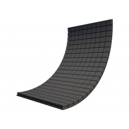 Панель из акустического поролона Ecosound Tetras Black 100x200см, 50мм, черный